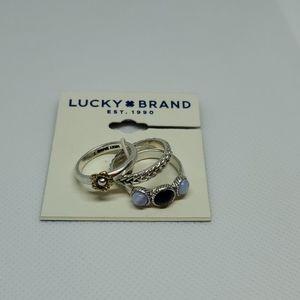 Lucky Brand Set of 3 Rings